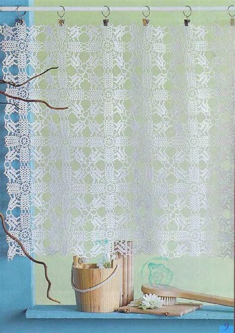 crochet creations 30 rideaux panneaux dentelle brise bise