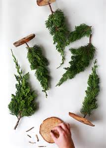 diy mini trees from tree lot scraps do it yourself ideas and projects