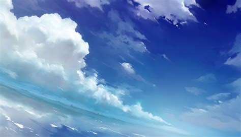 Wallpaper Anime Background - anime sky wallpapers wallpaper cave