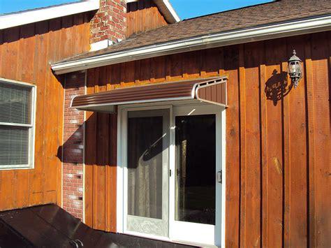 series door canopy  sidewings