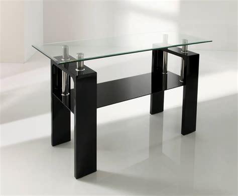 black glass console table parma black glass console table