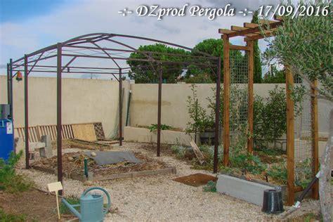 pergola installation pergola 3m par 4m les jardins de dzprod