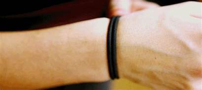 Wrist Wearing Hairband Hair Infection Susceptible Band