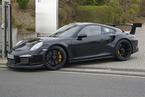 black porsche 911 gt3 new porsche 911 gt3 r delayed until 2016