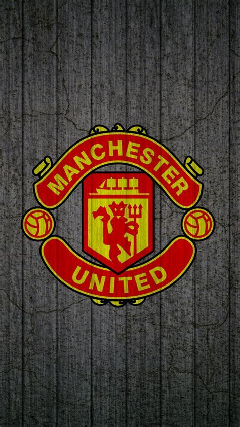 apple iphone   hd wallpaper manchester united logo