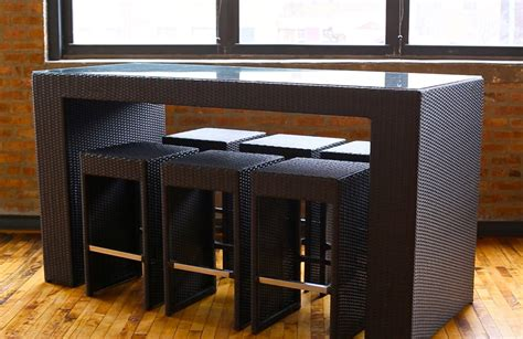 what is a two top table high top table sets to create an entertaining dining space
