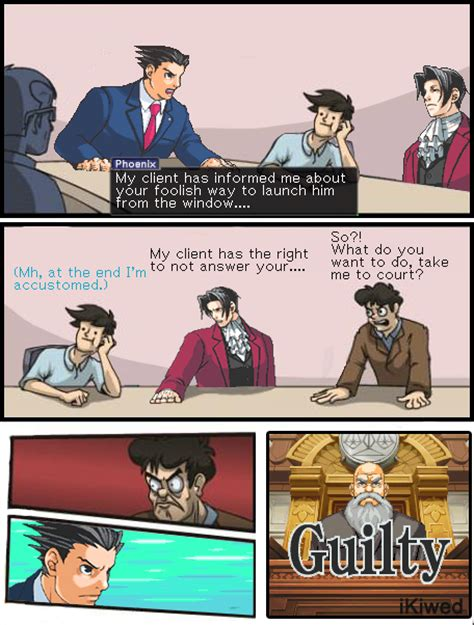 Phoenix Wright Memes - phoenix wright vs the director boardroom suggestion know your meme