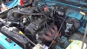 1987 Suzuki Samurai Motor