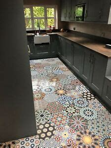 cut tile samples istanbul hexagon moroccan patchwork