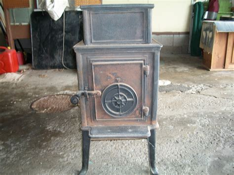 cast iron wood burning stoveheater antique appraisal
