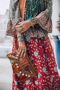 Robe Longue Style Boheme : style hippie chic entre ~ Dallasstarsshop.com Idées de Décoration