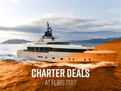 Fort Lauderdale Boat Show Schedule by Yachts For Charter At The Fort Lauderdale Boat Show