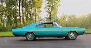 This 1968 Dodge Charger Is All Hemi  Noise And Turquoise