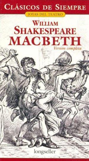 libros resumen de macbeth