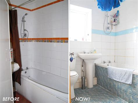 Bathroom Cheap Makeover by Cheap Bathroom Makeover Before After Pictures