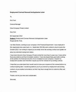 sample letter of request for employment contract extension With sample letter requesting a copy of employment contract