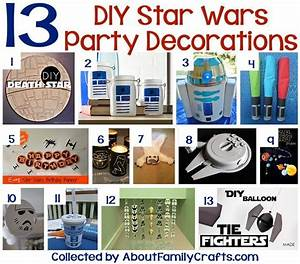 75+ DIY Star Wars Party Ideas – About Family Crafts