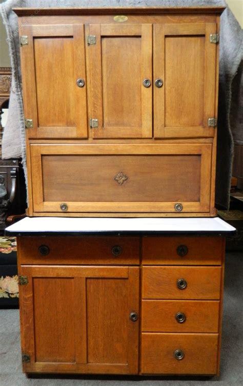 Hoosier Cupboard by Oak Kitchen Cupboard Hoosier Antiques Atlas