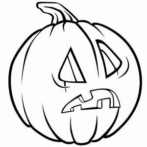 Citrouille Halloween Dessin : coloriage citrouille d 39 halloween tonn e en ligne gratuit ~ Melissatoandfro.com Idées de Décoration