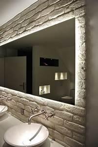 Spiegel Bad Mit Ablage : badspiegel mit ablage und beleuchtung grau das beste aus ~ Michelbontemps.com Haus und Dekorationen