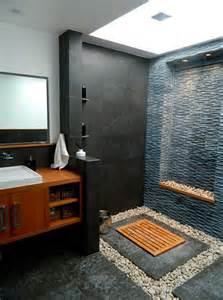 bathroom spa ideas create your own spa bathroom with pebbles