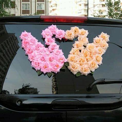 wedding decorations for car wedding car decorations trusper