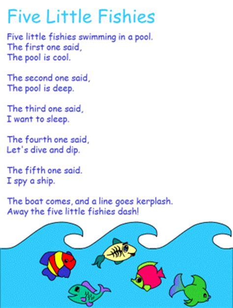 five fish nursery rhymes kindergarten songs 327   c603b54cdd4e8bbf406ea504c8e58c03