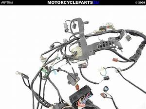 2007 2008 Honda Cbr600rr Wire Harness Used Oem