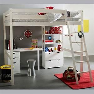 Lit 1 Place Mezzanine : lit mezzanine topiwall ~ Melissatoandfro.com Idées de Décoration