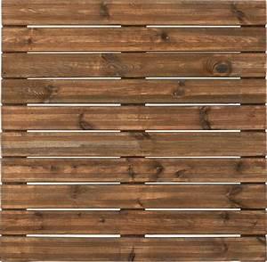 Texture Terrasse Bois : dalle pin sylvestre 100 x 100 x 3 8 brun ~ Melissatoandfro.com Idées de Décoration