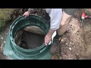 Installing Polylok Septic Tank Risers