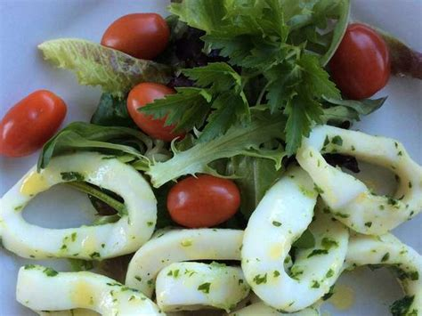 cuisiner des anneaux d encornets recettes d 39 encornets et persillade