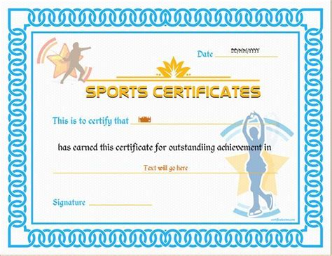 pin  alizbath adam  certificates sports day