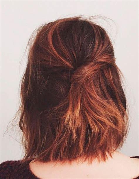 coiffure simple cheveux mi longs coiffure simple 20 jolies id 233 es pour les filles press 233 es