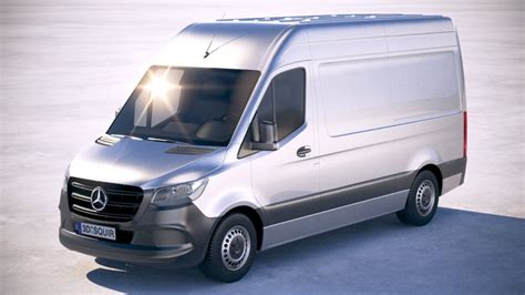 See what vehicles are part of the. Mercedes-Benz Sprinter Standard 2019 3d model - CGStudio