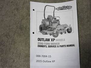 088-7004-15 - 2015 Outlaw Xp Owner U0026 39 S Manual
