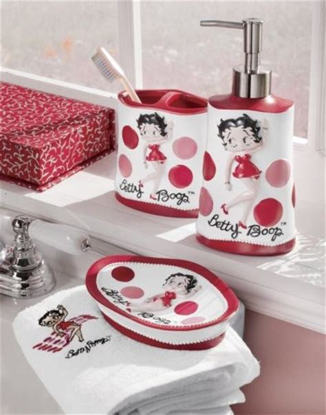 Betty Boop Bathroom Sets by Betty Boop Bathroom Set Betty Boop