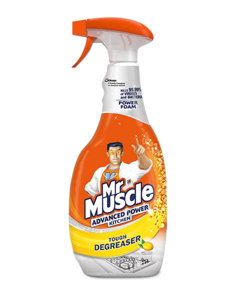 Advanced Power Kitchen Cleaner  Mr Muscle
