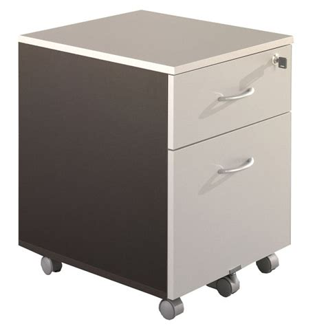 bureau mobile caisson de bureau mobile 2 tiroirs acc r29 lemondedubureau