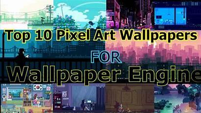 Pixel Wallpapers Engine Picserio
