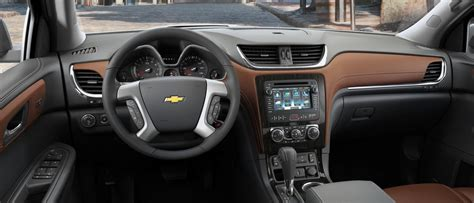 2017 Chevrolet Traverse Interior Dimensions