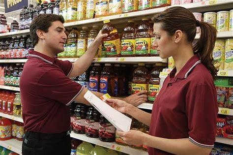 scaffalista supermercato 100 posti al supermercato per addetti all inventario