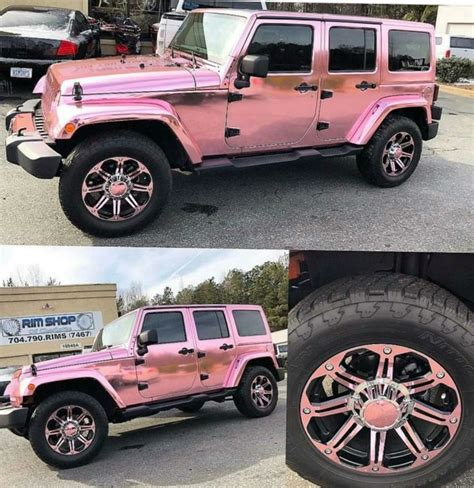 jeep pink matte jeep 2017 pink chrome jeep jeep car picture galleries