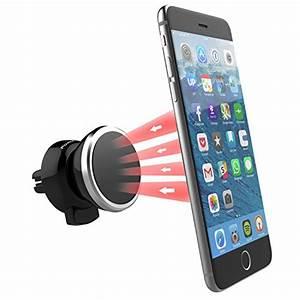 Iphone 6 Autohalterung : magnetische l ftungsschlitz autohalterung f r iphone 7 6s ~ Kayakingforconservation.com Haus und Dekorationen