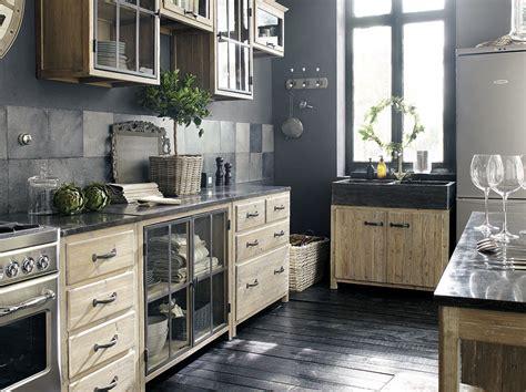 cuisine en noir cuisine bois cuisine et bois black and wood