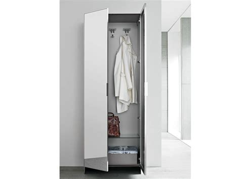Slim Mirrored Wardrobe slim wardrobe by birex