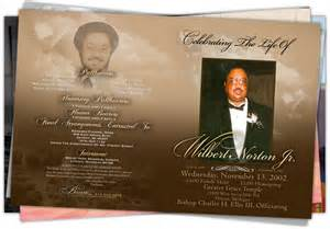 funeral program wording detroit obituary printing sle 4 beloved memories