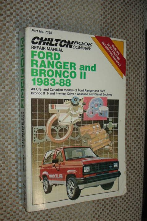 service and repair manuals 1988 ford bronco ii security system purchase 1983 1988 ford ranger bronco ii shop manual service book 84 85 86 87 motorcycle in carl