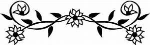 Flower border flowers clip art borders image - Clipartix