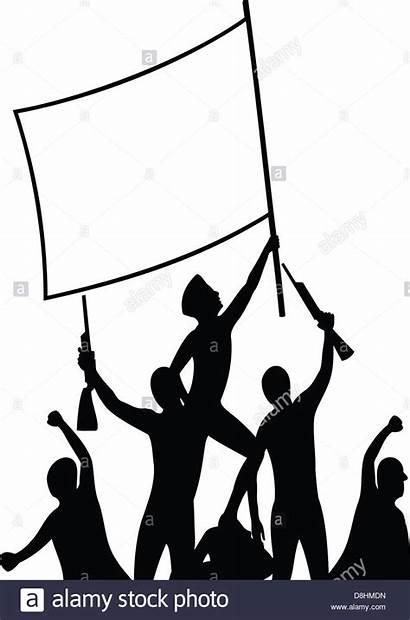 Freedom Victory Fighters Silhouette Siluetta Combattenti Clipart